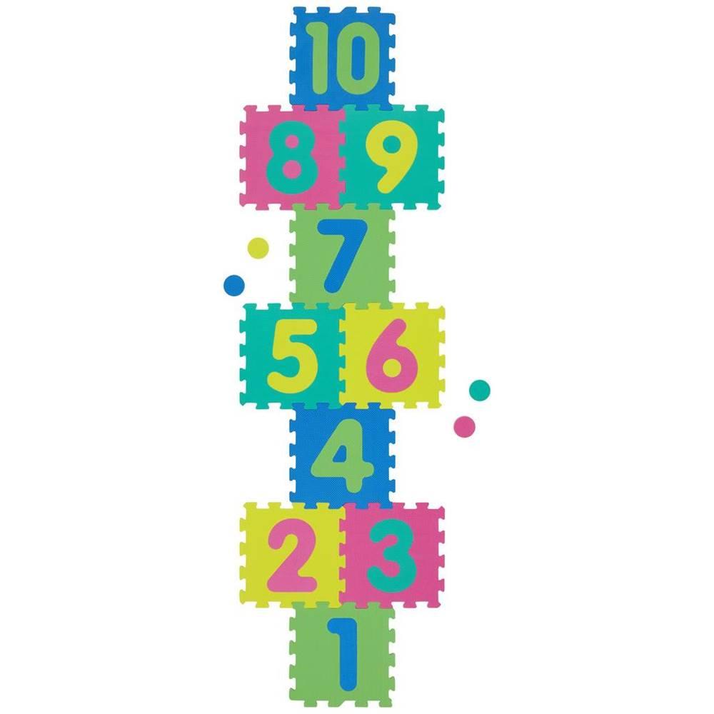 Möbelix Penové Puzzle S Číslami Playmat