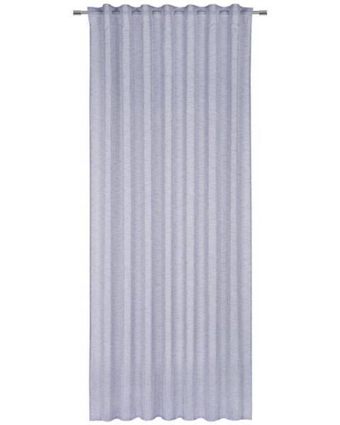 Modrý záves Möbelix