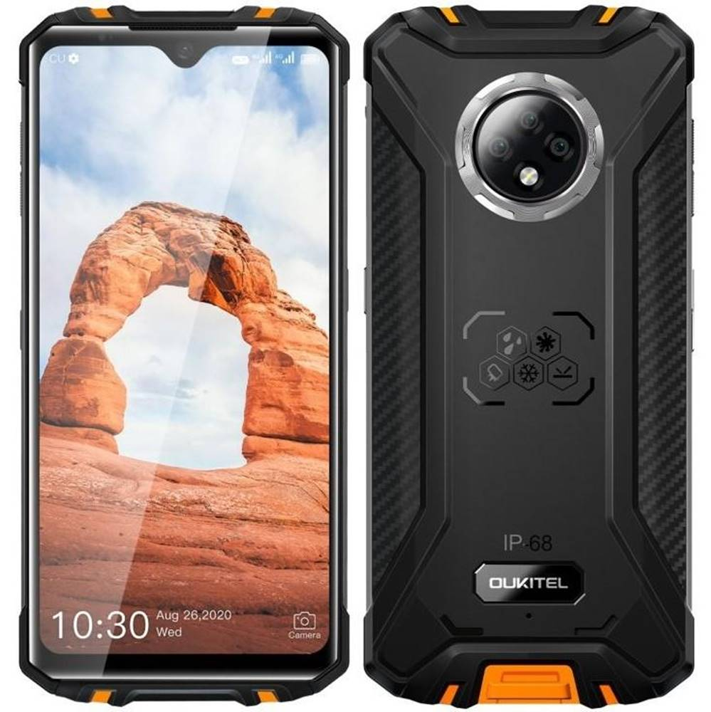 Oukitel Mobilný telefón Oukitel WP8 Pro oranžový