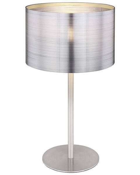 Strieborná stolová lampa Möbelix