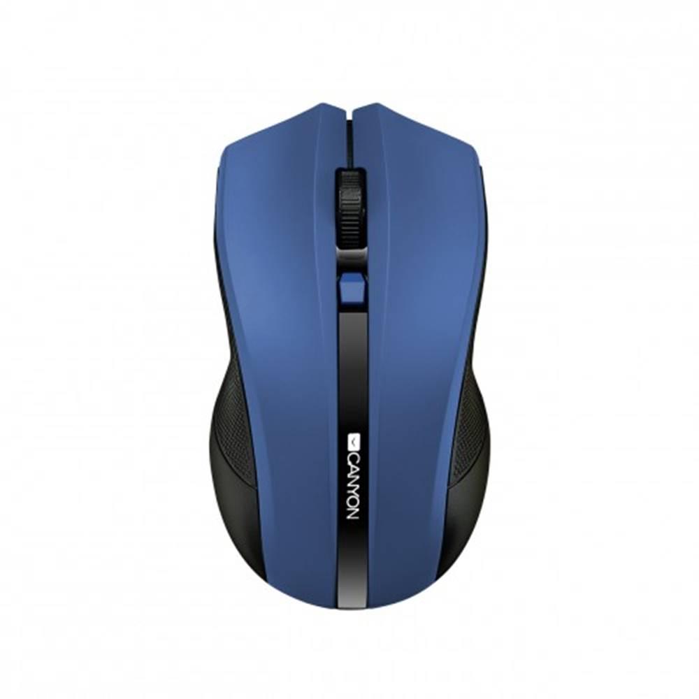 Canyon Canyon CNE-CMSW05BL, Wireless optická myš USB, modrá