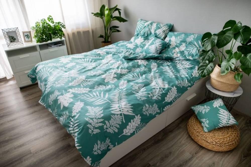 OKAY nábytok Obliečky Palma green