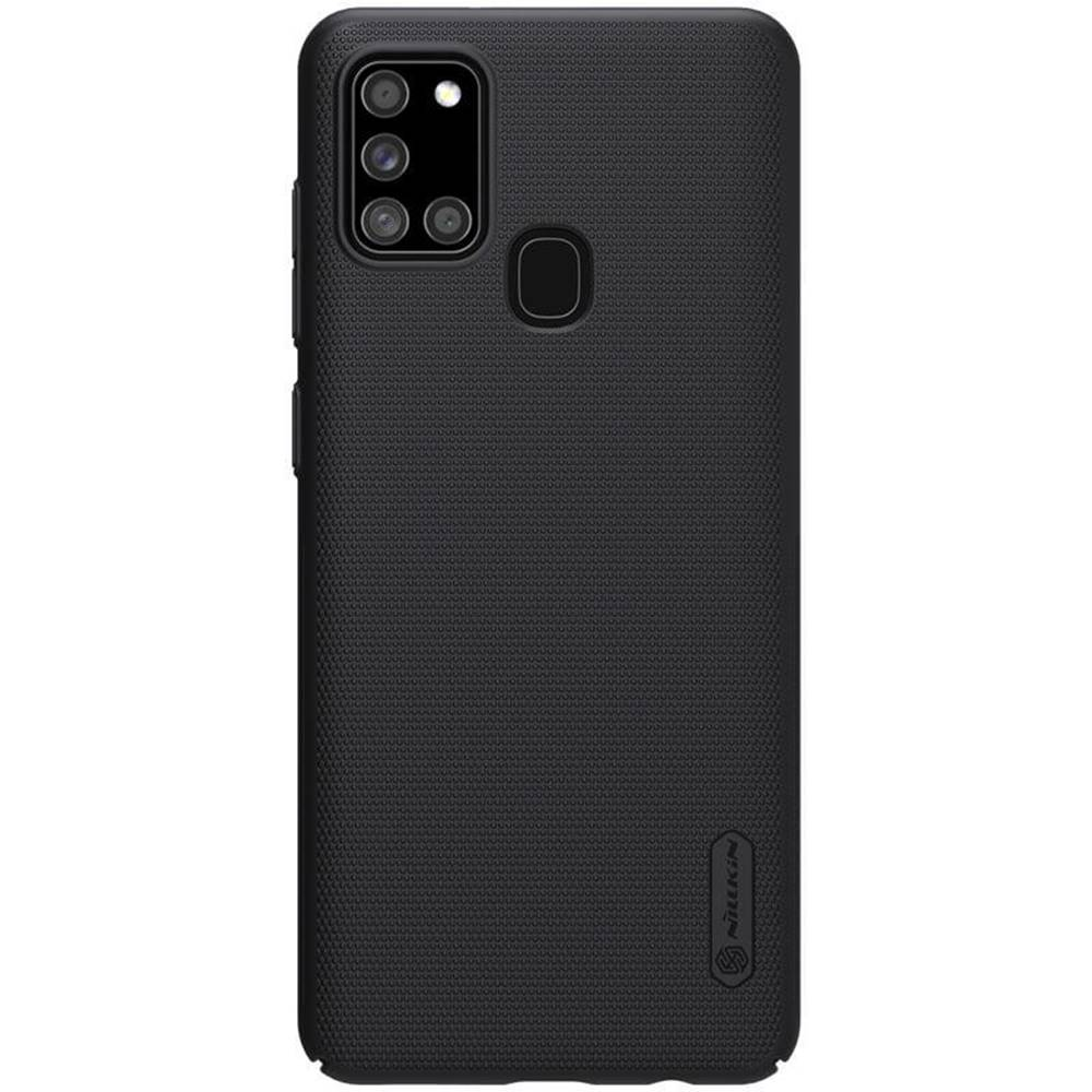 Nillkin Kryt na mobil Nillkin Super Frosted na Samsung Galaxy A21s čierny