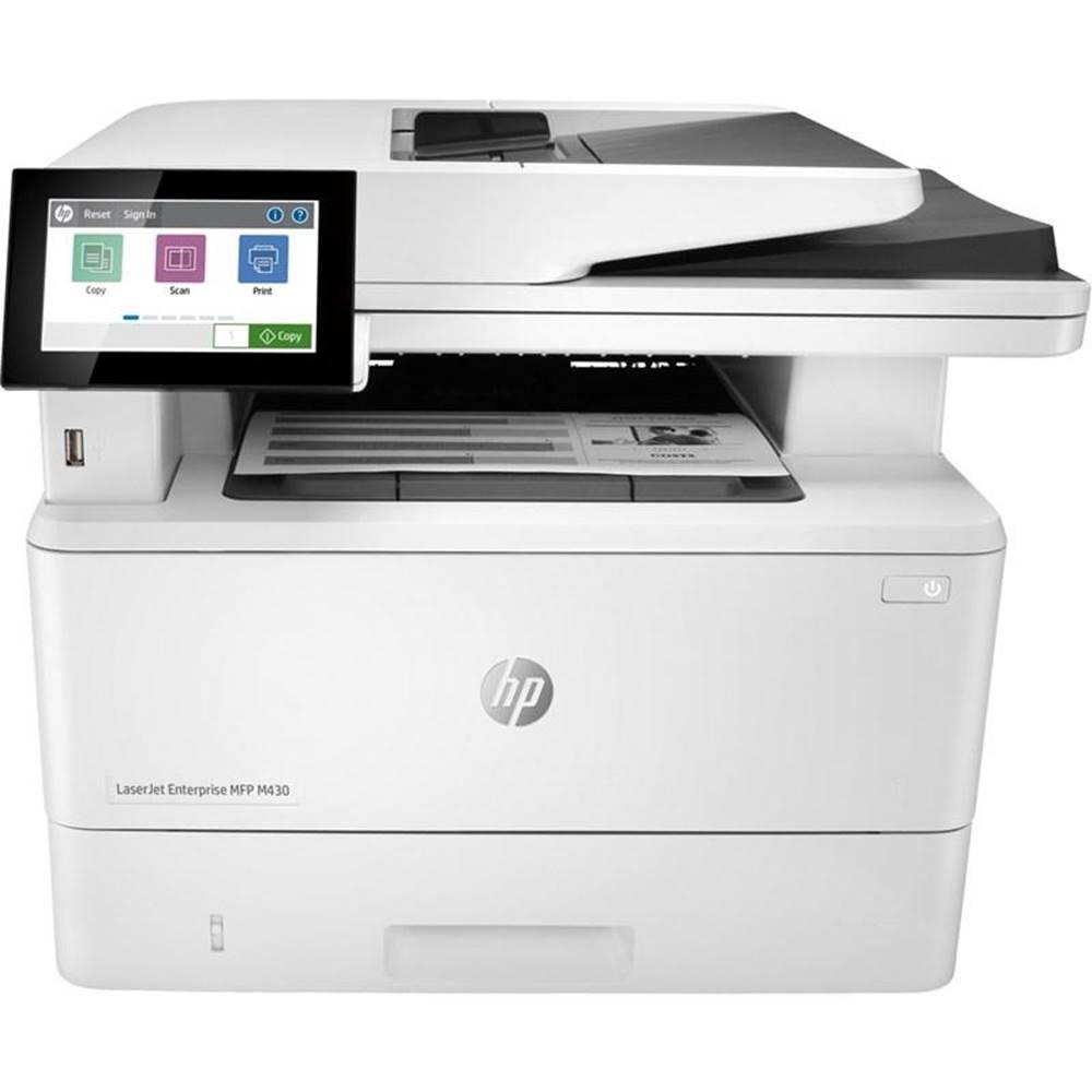 HP Tlačiareň multifunkčná HP LaserJet Enterprise MFP M430f biely