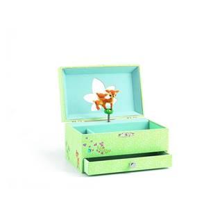 Drevená hracia skrinka Djeco Bambi