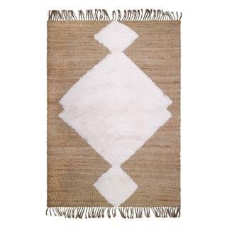 Prírodný ručne vyrobený koberec Nattiot Elton, 110 x 170 cm