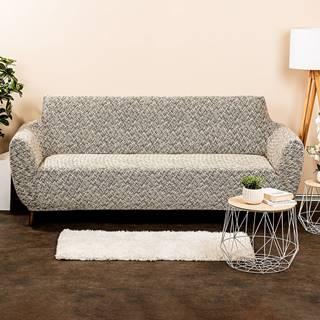 4Home Multielastický poťah na sedačku Comfort Plus béžová, 180 - 220 cm, 180 - 220 cm