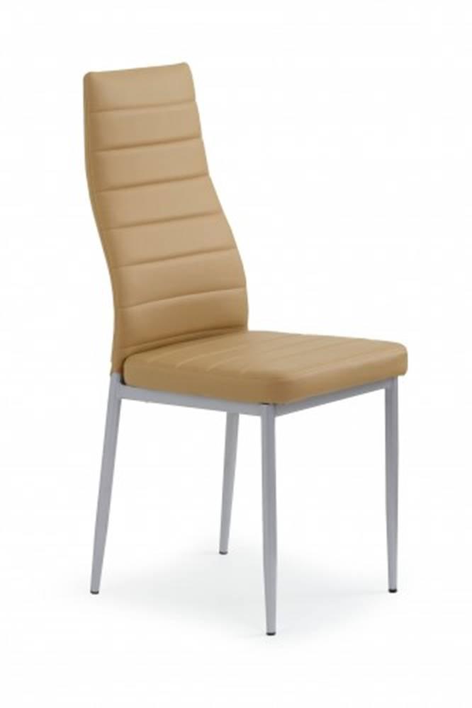 OKAY nábytok Jedálenská stolička K70 hnedá