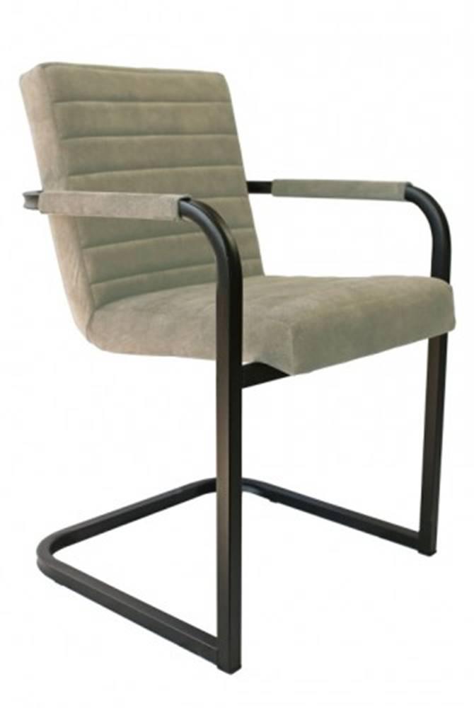 OKAY nábytok Jedálenská stolička Merenga čierna, béžová