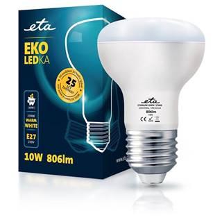 LED žiarovka ETA EKO LEDka reflektor 10W, E27, teplá biela