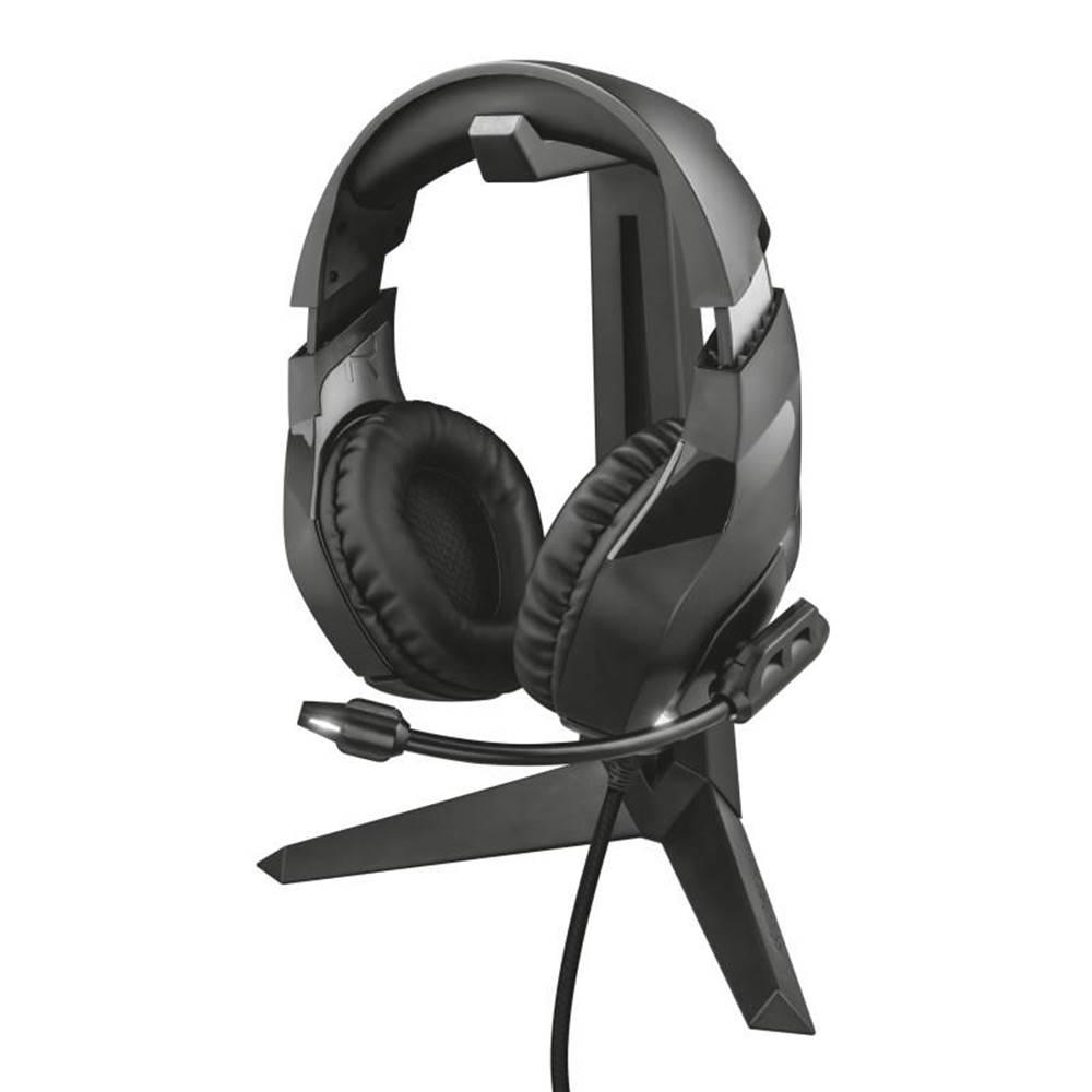 Trust Stojanček Trust GXT 260 Cendor Headset Stand čierne