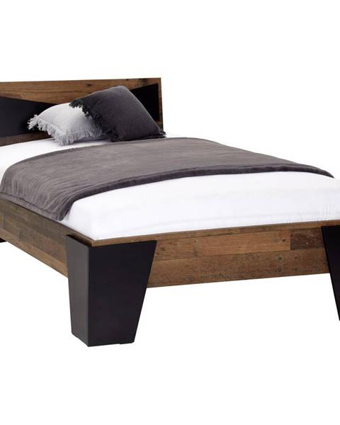 Čierna posteľ Möbelix