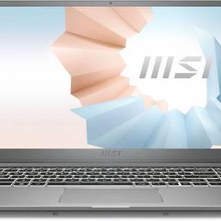 Notebook MSI Modern 15 A11SB-086CZ i7 16 GB, SSD 512 GB, MX450