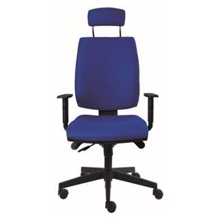 Kancelárska stolička CHARLES modrá
