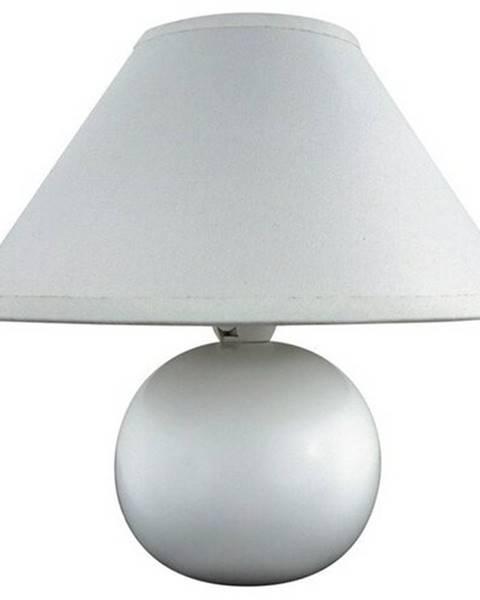 Biela stolová lampa Banquet
