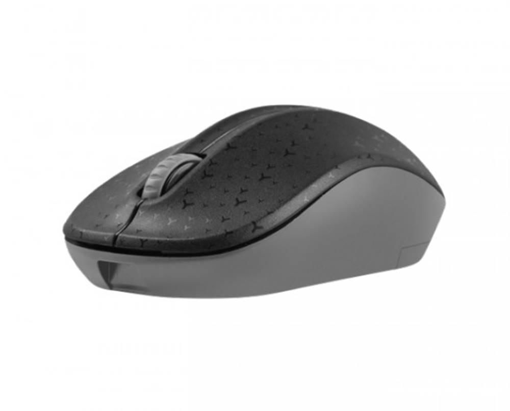 Natec Bezdrôtová myš Natec TOUCAN, 1600 DPI, čierno-šedá