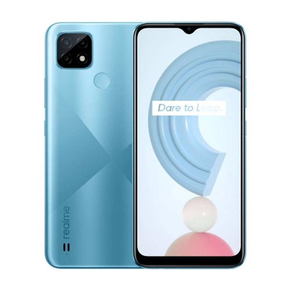 Realme Mobilný telefón Realme C21 3GB/32GB, modrá