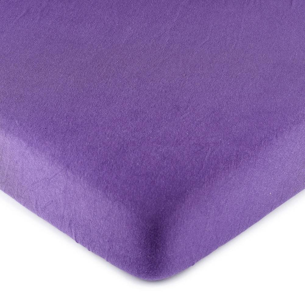 4Home 4Home jersey prestieradlo fialová, 90 x 200 cm