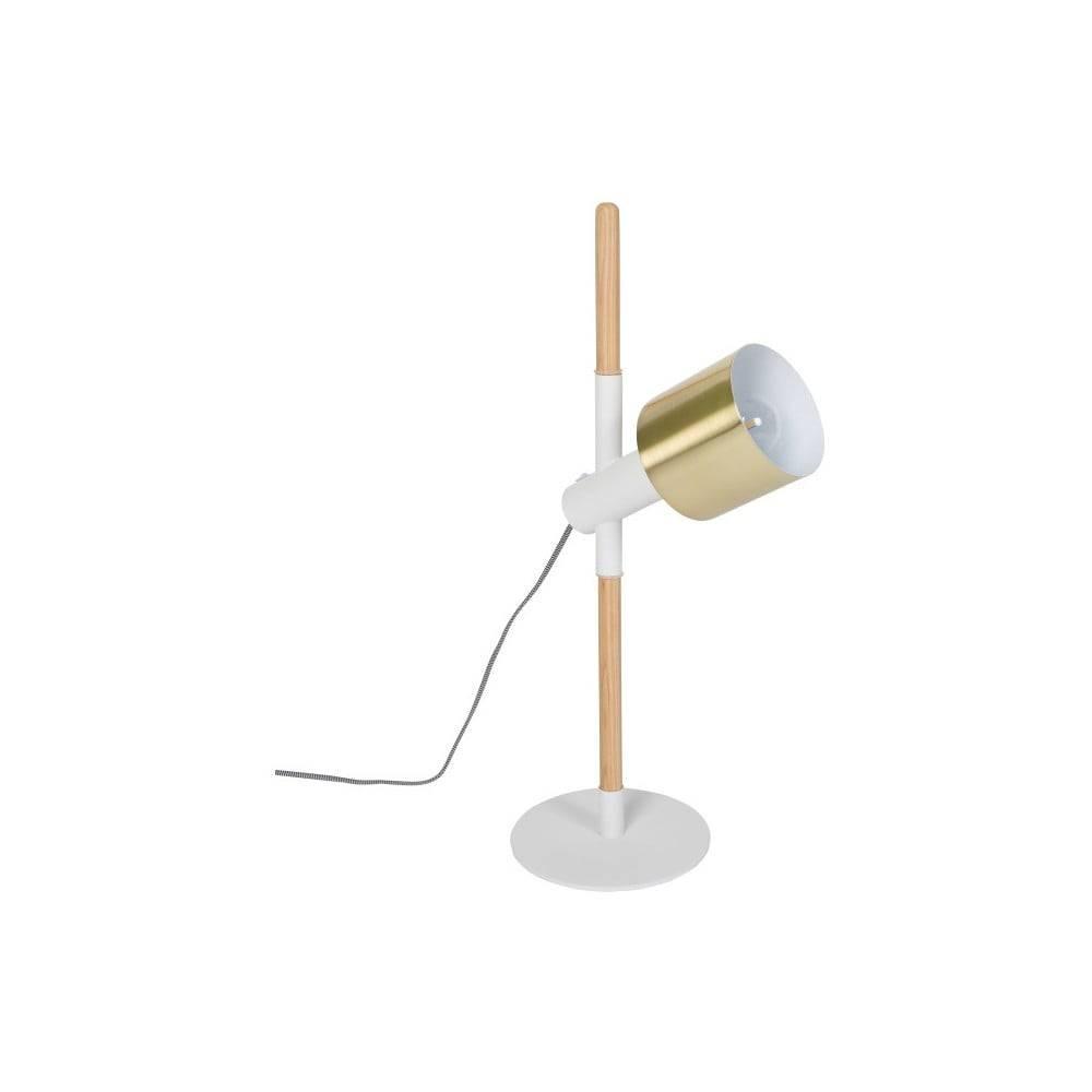 Zuiver Biela stolová lampa Zuiver Ivy