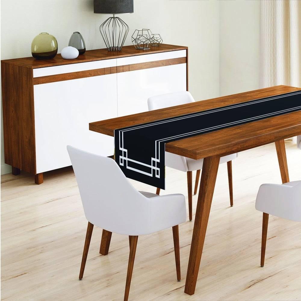 Minimalist Cushion Covers Behúň na stôl z mikrovlákna Minimalist Cushion Covers Mulia, 45x145cm