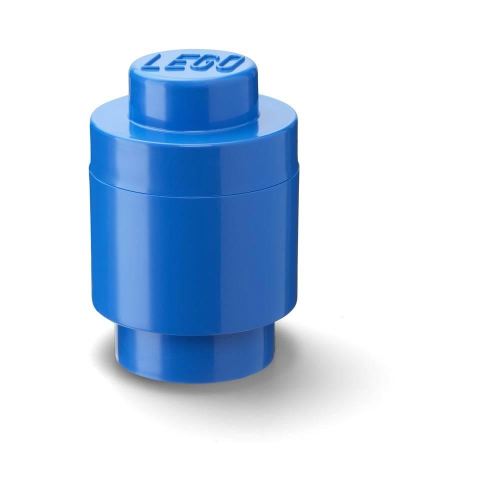 LEGO® Modrý úložný okrúhly box LEGO®
