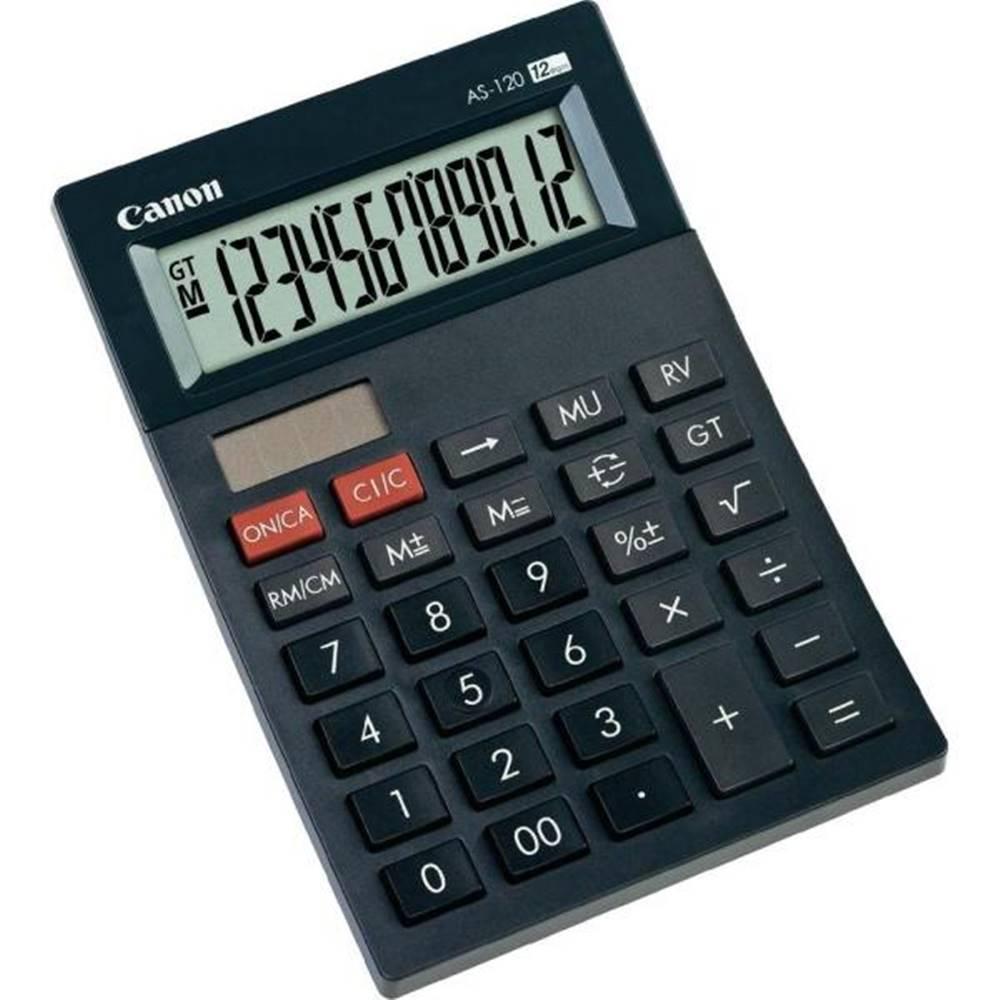 Canon Kalkulačka Canon AS-120 čierna