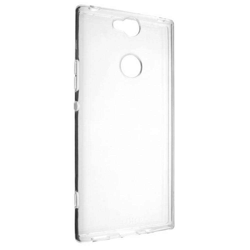 FIXED Kryt na mobil Fixed Skin na Sony Xperia XA2 Plus priehľadný