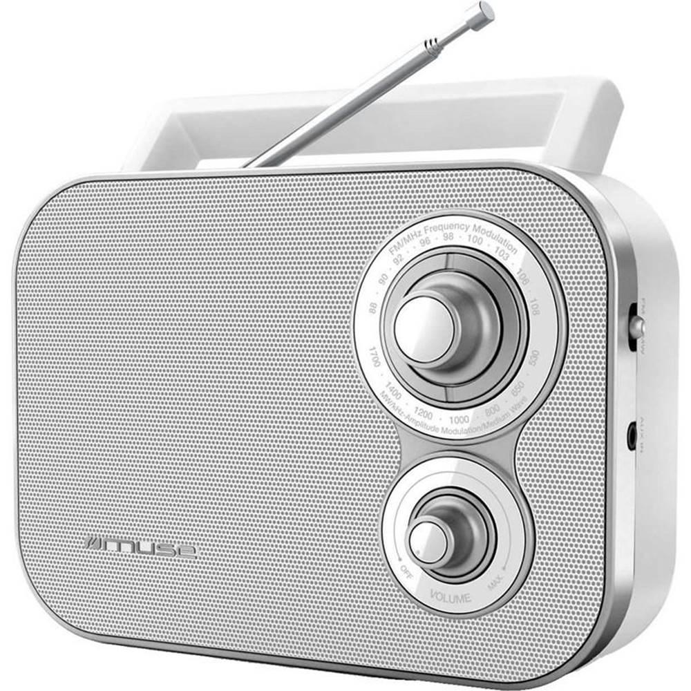 MUSE Rádioprijímač MM-051 RW biely