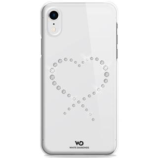 Kryt na mobil White Diamonds Eternity na Apple iPhone XR priehľadný
