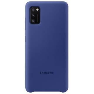Kryt na mobil Samsung Silicon Cover na Galaxy A41 modrý