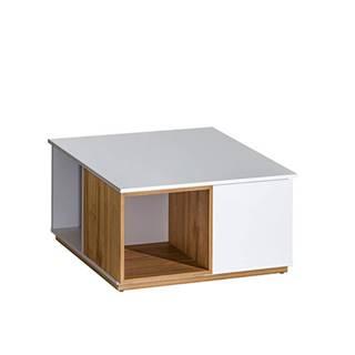 Konferenčný stolík orech select/biela KNOX E13