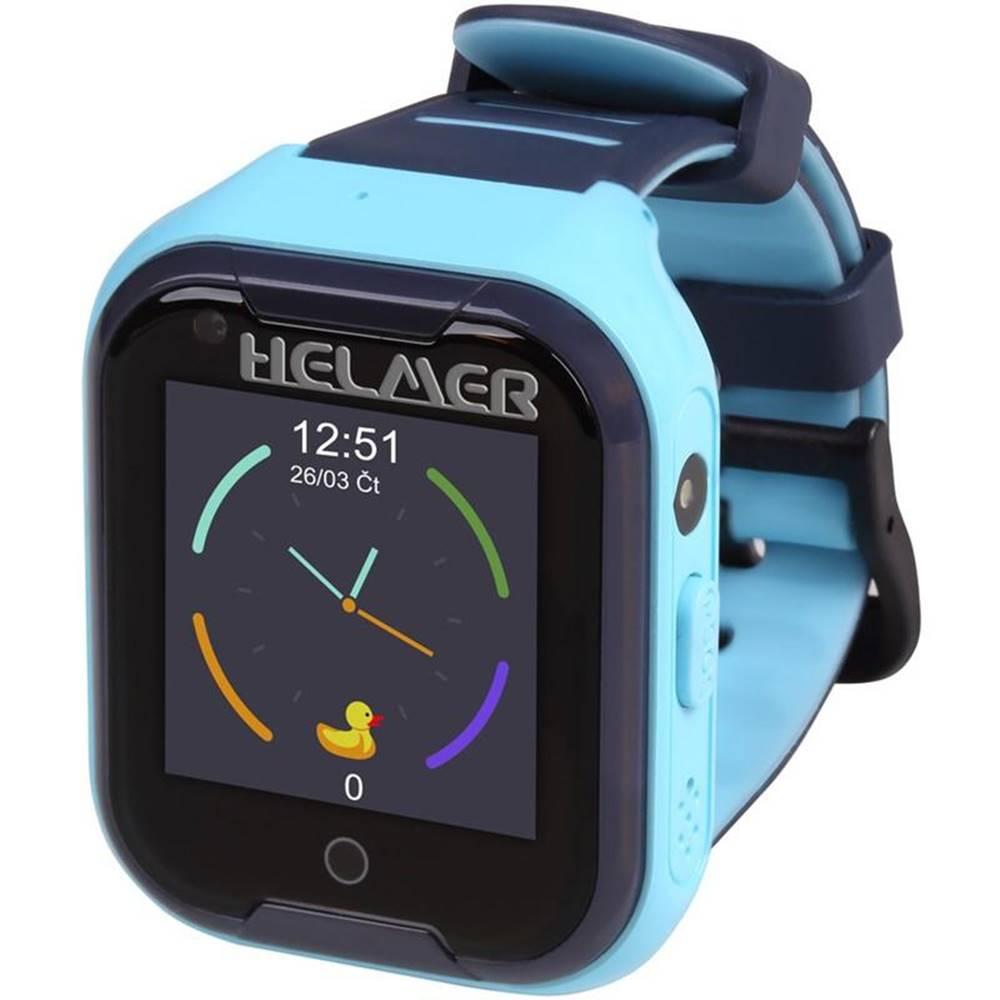Helmer Inteligentné hodinky Helmer LK709 dětské s GPS lokátorem modrý