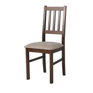 Jedálenská stolička BOLS hnedá