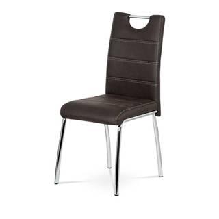 Jedálenská stolička PODA hnedá
