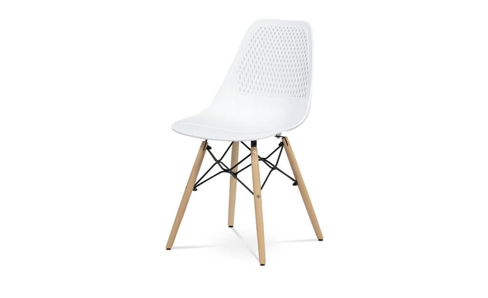 Sconto Jedálenská stolička ELODY biela