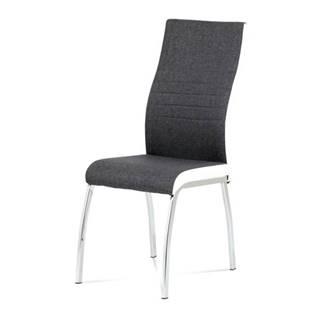 Jedálenská stolička CHLOE sivá